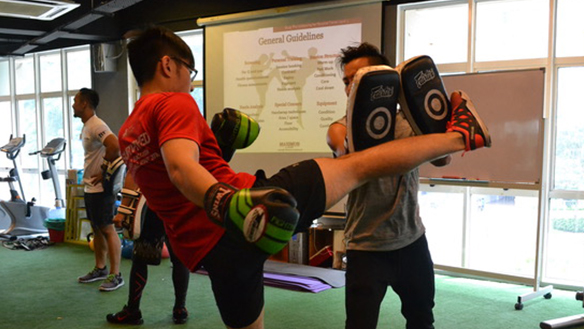 Muay Thai Kickboxing for Personal Trainers Level 1 and 2